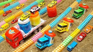 Build Swimming Pool Blocks Toys For Kids   Construction Vehicles Toys for Children   Kids and Toys