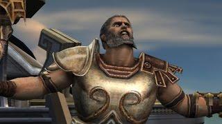 God of War 2: Theseus Boss Fight (4K 60fps)