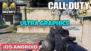 CALL OF DUTY MOBILE - ANDROID / IOS GAMEPLAY (ULTRA GRAPHICS)