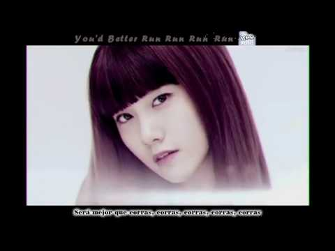SNSD Girls' Generation - Run Devil Run (Story Mirror Version) Español Karaoke Subs HD