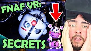 FNAF VR: SECRETS & EASTER EGGS that will BLOW your MIND... (Five Nights at Freddy's: Help Wanted)