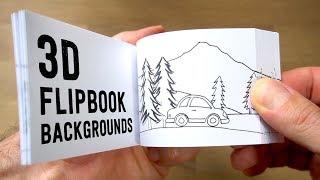 How to make 3D FLIPBOOK BACKGROUNDS (Parallax Effect)