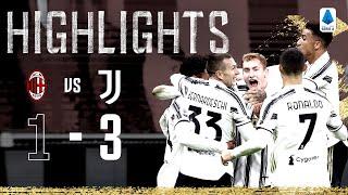 AC Milan 1-3 Juventus | Chiesa & McKennie Score in Brilliant San Siro Victory! | Serie A Highlights