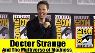 DOCTOR STRANGE AND THE MULTIVERSE OF MADNESS | 2019 Comic Con Panel (Benedict Cumberbatch)