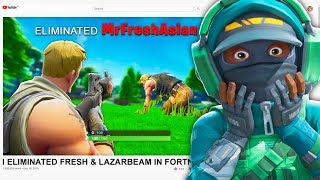 So I Reacted to Players Eliminating me in Fortnite...