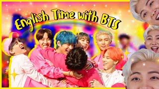 BTS ENGLISH TIME | BTS Speaking English Compilation