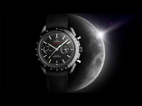 Omega Speedmaster Moonwatch Chronograph 44.25 MM Dark Side Of The Moon - Unworn with Box and Papers
