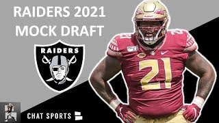 Raiders Mock Draft: Las Vegas Selects Florida State DT Marvin Wilson 13th Ovr. In The 2021 NFL Draft