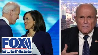 Giuliani rips Kamala Harris over her criminal justice record