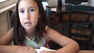 7 year old girl's reading skills