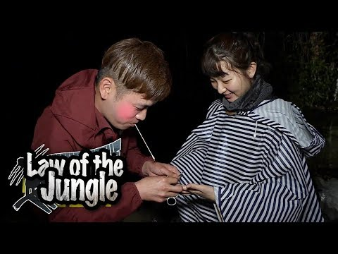 Seul Gi Caught a Crab! But.. It Pinched Her!! [Law of the Jungle Ep 321]