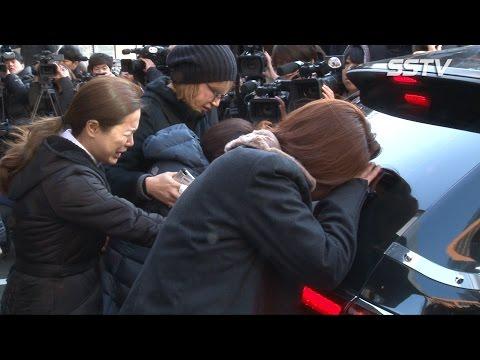 [SSTV] 故 김자옥 발인, 영원히 잠든 공주 '박미선-이경실 등 오열'