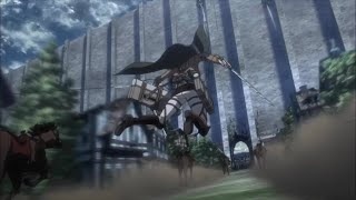 Attack on Titan S3 Part 2 - Wall Maria Charge