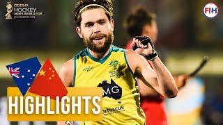 Australia v China | Odisha Men's Hockey World Cup Bhubaneswar 2018 | HIGHLIGHTS