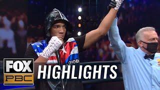 David Morrell Jr. dominates Mike Gavronski, wins by third-round knockout | HIGHLIGHTS | PBC ON FOX