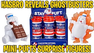 Hasbro reveals Ghostbusters: Afterlife Mini-Pufts Surprise figure line