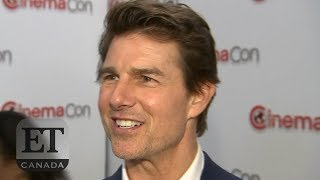 Tom Cruise Talks Accident, John Cena On His Break-Up At CinemaCon