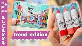 essence trend edition kisses from italy - NEU in der drogerie