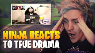Ninja Reacts To DramaAlert Faze Banks Interview about Tfue Lawsuit *FULL REACTION*