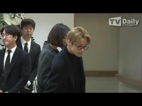 [TD영상] 엑소(EXO)-슈퍼주니어(Super Junior)-아이유(I.U) 등, 故 샤이니 종현(SHINee Jong hyu) 빈소 조문 행렬