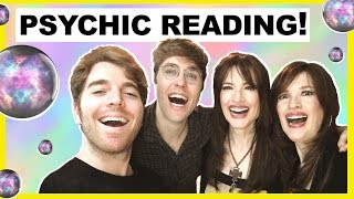 MY PSYCHIC READING! (W/ The Psychic Twins & Shane Dawson)