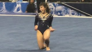 Katelyn Ohashi (UCLA) Floor 2018 NCAA Super Six 9.95