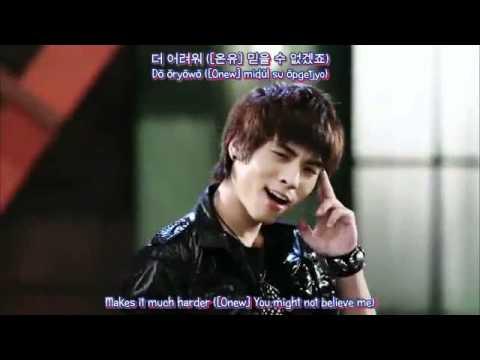 [HD MV] SHINee - Hello (Hangul + Romanization + English Sub)
