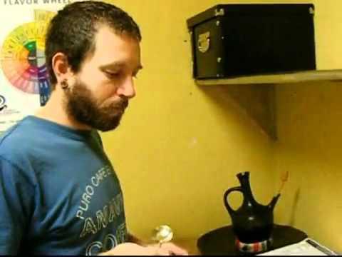 Amavida Coffee Cupping Process