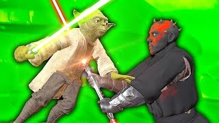 LIGHTSABER DUEL AGAINST YODA - Blade and Sorcery VR Mods (Star Wars)