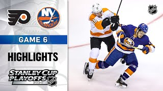 NHL Highlights | Second Round, Gm6 Flyers @ Islanders - Sept. 03, 2020