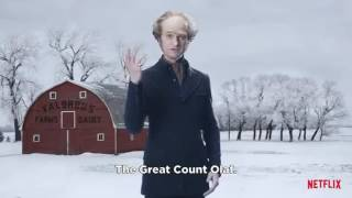Holiday Greetings from Count Olaf (Neil Patrick Harris)