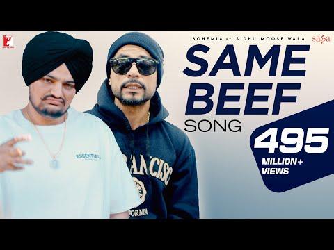 Same Beef - Bohemia Ft. Sidhu Moose Wala | Official Song | Byg Byrd | New Punjabi Song 2019