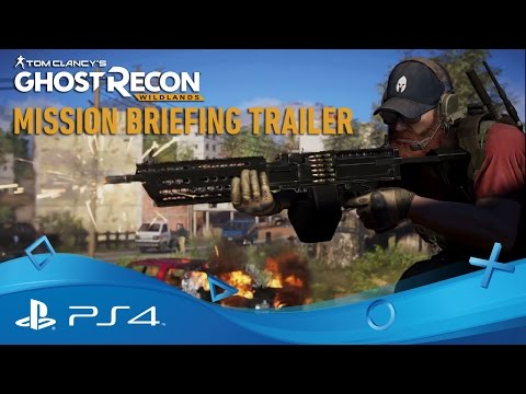 Tom Clancy's Ghost Recon: Wildlands | Uppdragsbriefing - trailer | PS4