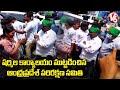 AP Parirakshana Samithi tries to barge into YS Sharmila Party Office