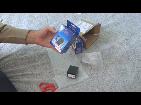 Unboxing and test of NP-FV100 Battery + Charger for Sony Handycam in 3D