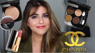 CHANEL Les Ornements De Chanel Holiday 2019 Makeup Collection Review & Demo