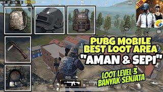 Lokasi Loot Terbaik dan Aman di PUBG Mobile Quantum I Banyak Senjata, Armor, Helmet, Tas Lv. 3