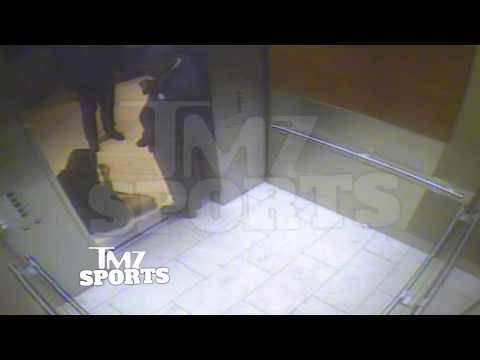Ray Rice  ELEVATOR KNOCKOUT Raw Footage