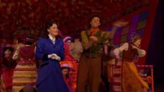 """""""Supercalifragilisticexpialidocious!"""" from MARY POPPINS on Broadway"""