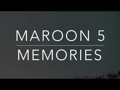 Maroon 5 - Memories (Lyrics/Tradução/Legendado)(HQ)