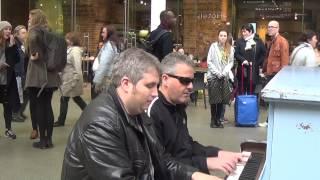 Буги-вуги на вокзале Сент-Панкрас