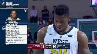 NCAAB 2018 11 18 Saint Joseph's vs West Virginia 720p60