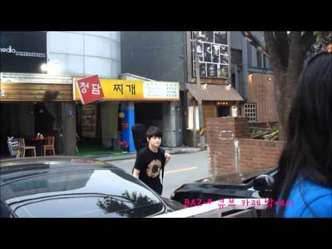 [FANCAM] 120516 CUBE Cafe - Yang Yoseob