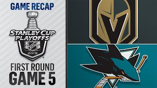 Sharks stave off elimination with Game 5 win