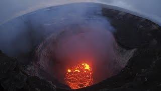 Raw Video Kilauea Volcano Eruption in Hawaii
