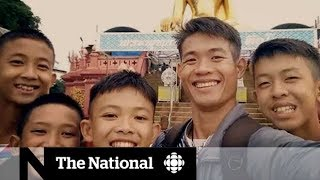Thai boys trapped in cave send letters to families