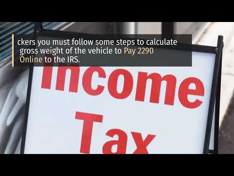 Form 2290 E File | Form 2290 for 2020 | IRS Tax Form 2290