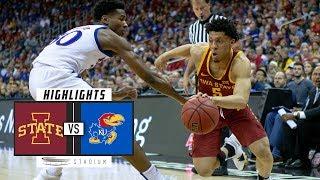 Iowa State vs. No. 17 Kansas Basketball Highlights (2018-19)   Stadium