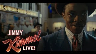 Chadwick Boseman on Playing Thurgood Marshall