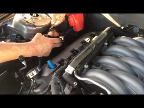 2011-14 5.0 Mustang UPR Billet Oil Catch Can Installation